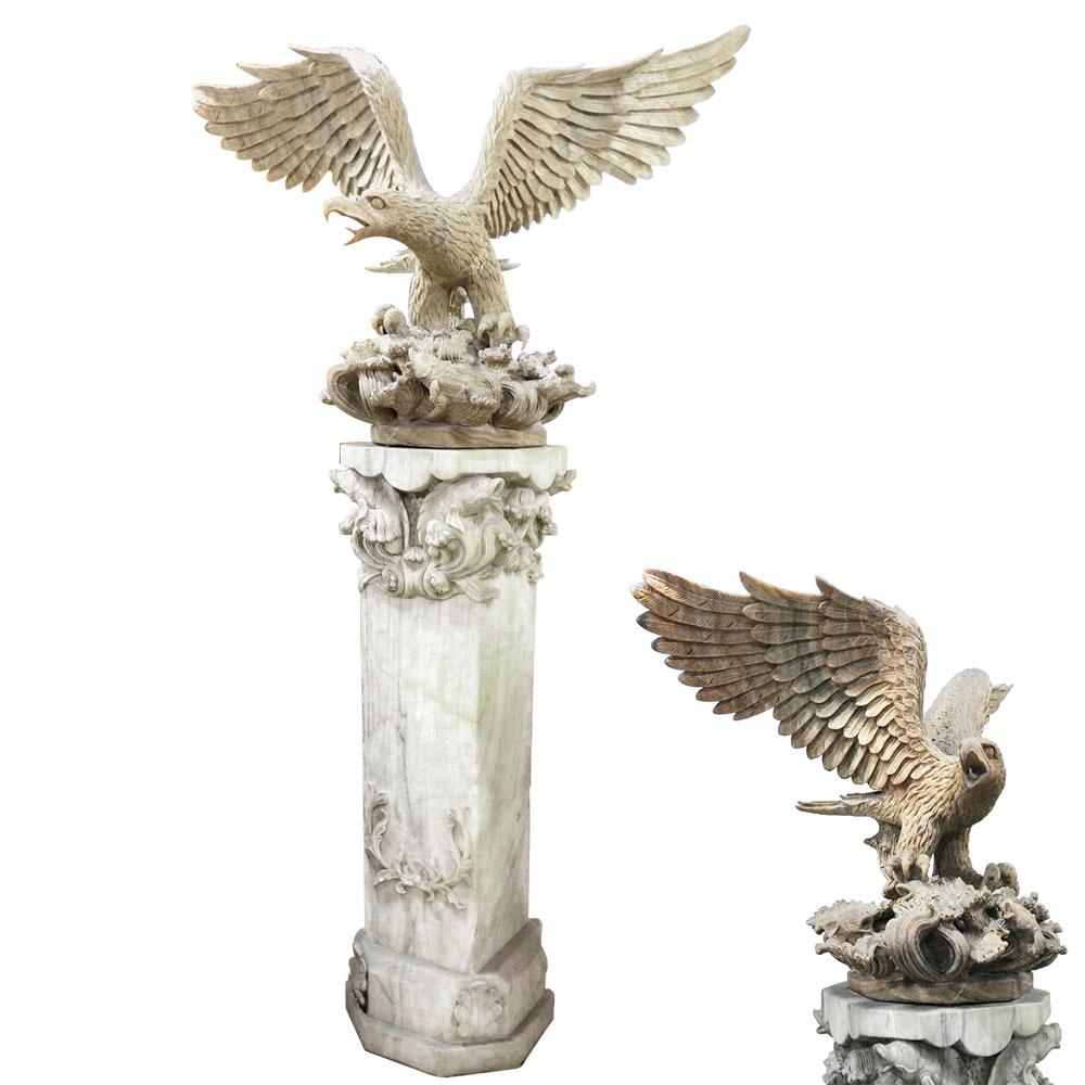 法國工藝瑪瑙海之鷹